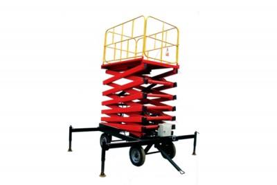 四輪移動式液壓升降平臺