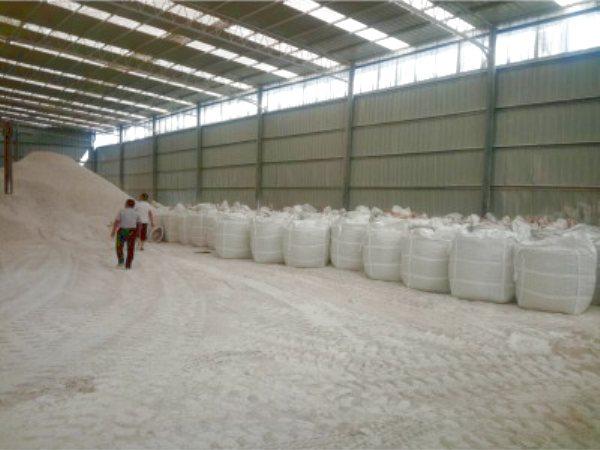 石灰粉吨袋区
