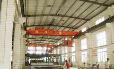宏開磚廠生產線專用行車(全車變頻)