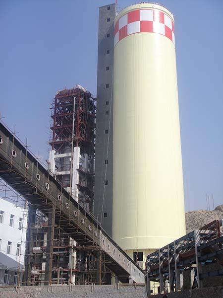 甘肃刘化集团30万吨年尿素装置建筑防腐