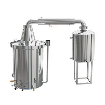 双层一体蒸汽式酿酒设备