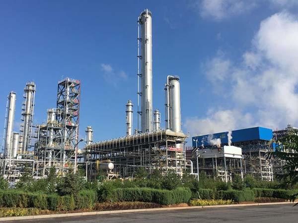 揚子石化芳烴裝置防腐保溫
