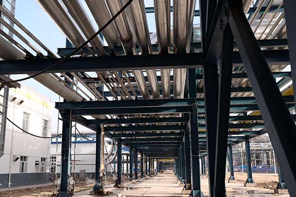 中石化长城能化管廊防腐保温