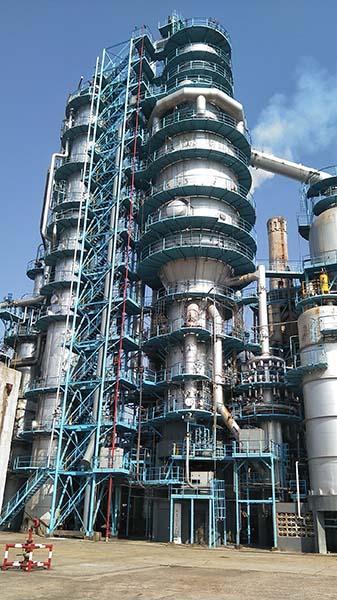 高桥石化炼油四部2#催化装置防腐保温