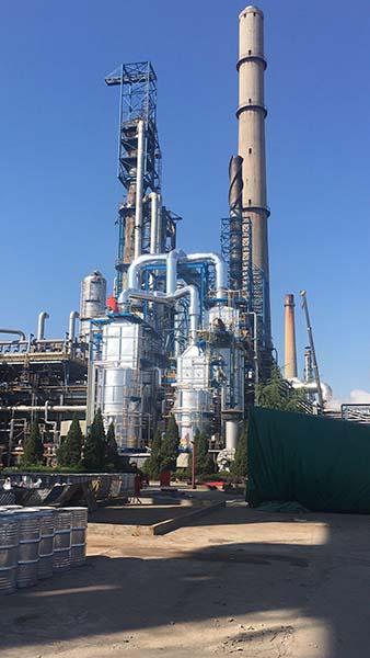 扬子石化芳烃厂重整装置防腐