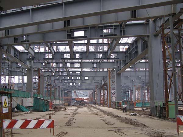 北京火车南站钢结构防火