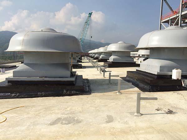 委內瑞拉中央電廠防水防腐保溫