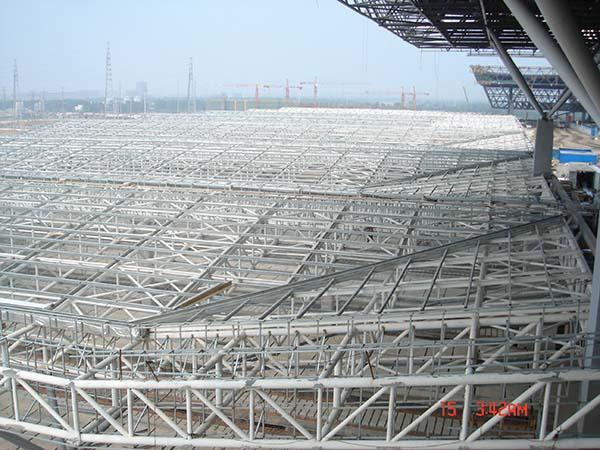 郑州东站钢结构防火
