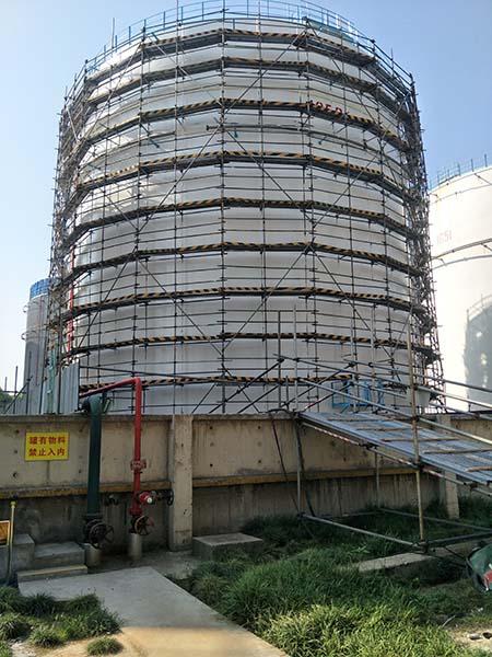 高桥石化油罐防腐