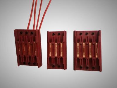 无接缝中间供电(连接)器