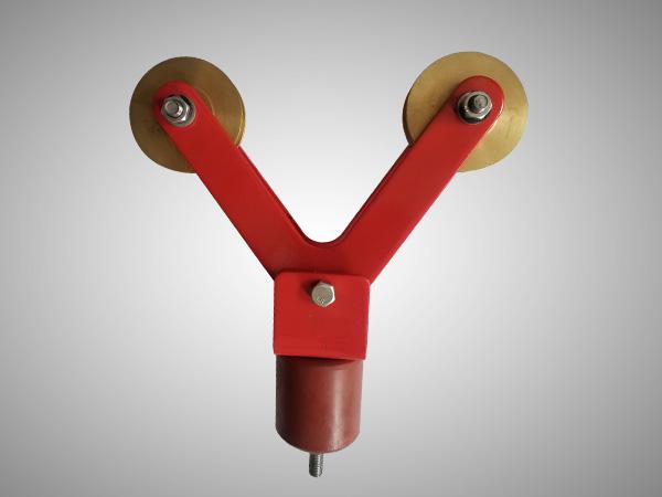铜轮集电器