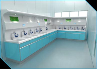 内镜一体化清洗工作站