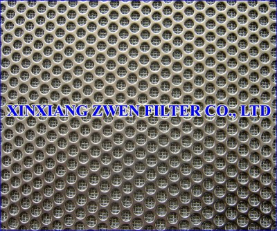 Perforated Sheet Sintered Mesh