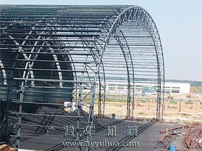 水泥厂原料库钢结构