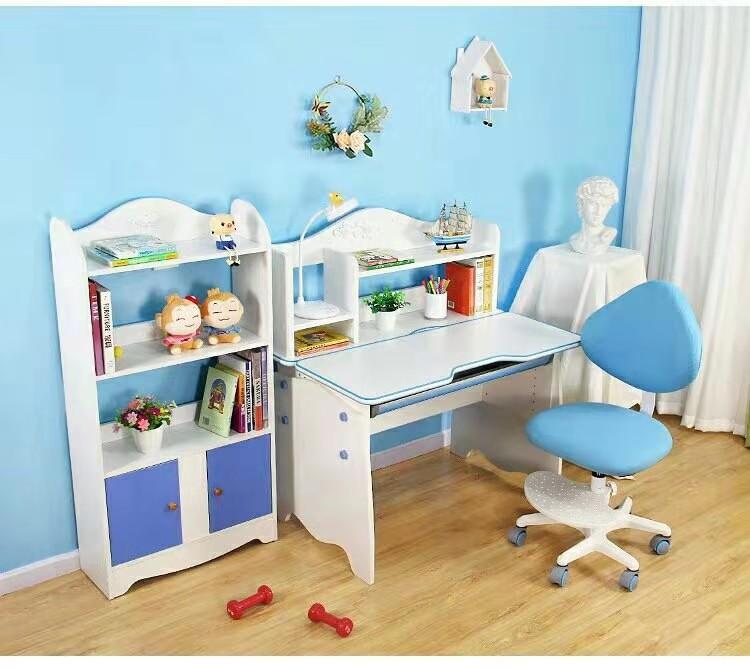 学习桌椅书柜组合