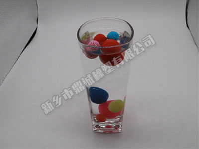 透明橡膠球加工