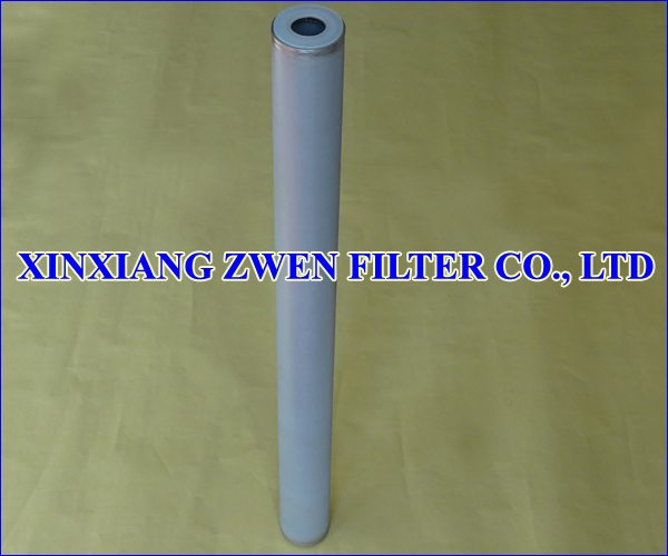 Ti Sintered Powder Filter Cartridge