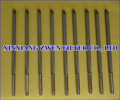Ti Sintered Porous Filter Cartridge