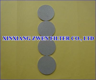Ti Sintered Porous Filter Disc