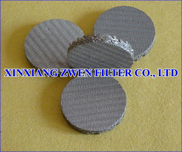 Backwash Sintered Filter Disc