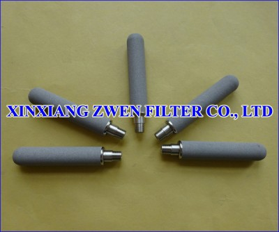Titanium Sintered Powder Filter Cartridge