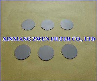 SS Sintered Powder Filter Disc