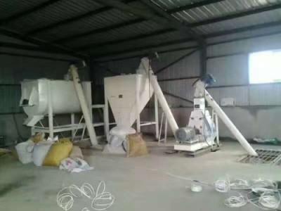 卧式干粉搅拌机的工作场所