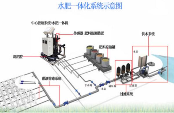 智能水肥一體化系統