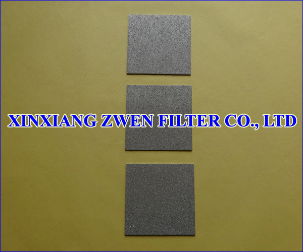 Titanium Sintered Powder Filter Plate