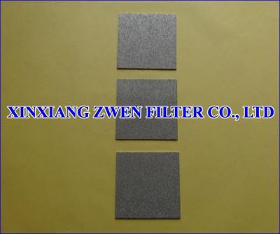 Titanium Sintered Powder Filter Plate