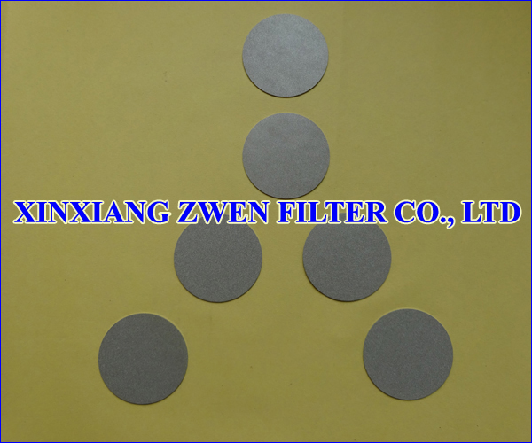 Ti Sintered Powder Filter Disc