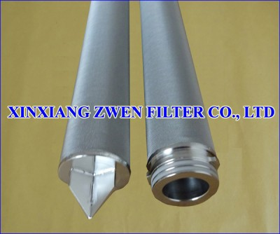 Cylindrical Sintered Fiber Felt Filter Element