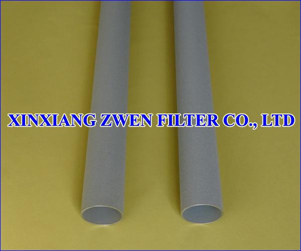 Ti Sintered Porous Filter Tube