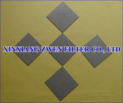 Titanium Sintered Powder Filter Sheet