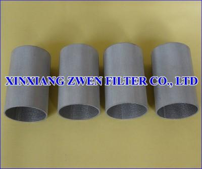 Stainless Steel Sintered Metal Filter Tube