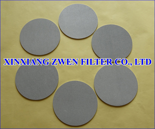 Titanium Sintered Powder Filter Disc