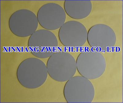 Ti Sintered Powder Filter Disc