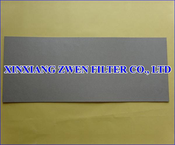 Ti Sintered Powder Filter Sheet