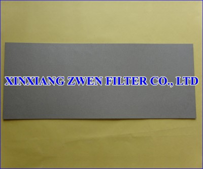 Ti Sintered Powder Filter Sheet