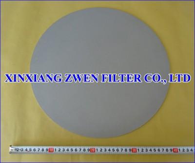 Titanium Sintered Filter Disc
