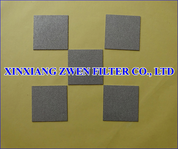 Ti Sintered Powder Filter Plate