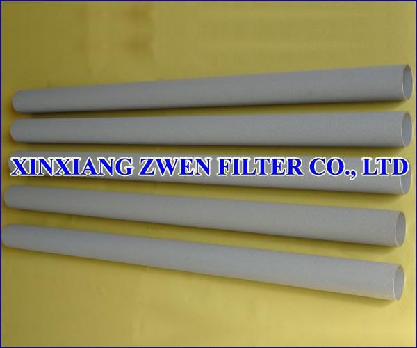 Titanium Sintered Porous Filter Tube