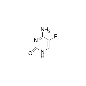 5-氟胞嘧啶5-Fluorocytosine.png