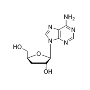 3-脱氧腺苷(虫草素)3'-Deoxyadenosine(cordycepin).png