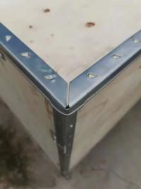 插片式钢带木箱