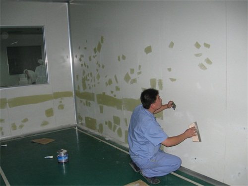 牆面彩鋼板翻新