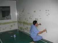 墙面彩鋼板翻新