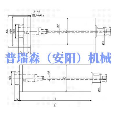 SPQ系列 通孔機械主軸