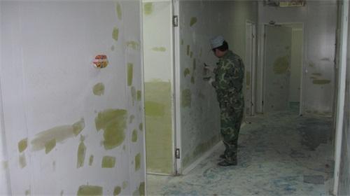 無菌室彩鋼板修複