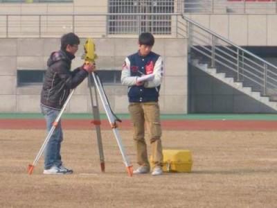 河南师范大学1:1000地形图测绘项目